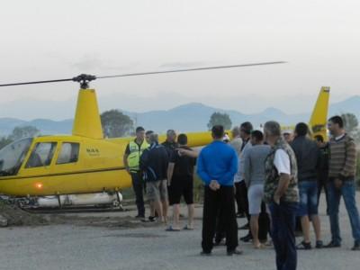 Пчеларите не позволиха на хеликоптерите да излетят и да пръскат над полето на Гоце Делчев