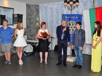 Ротари клуб – Гоце Делчев посрещна ротарианската нова година