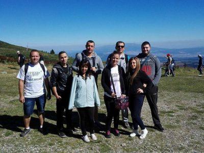 Младежите от ГЕРБ – Гоце Делчев са изкачиха на седемте рилски езера