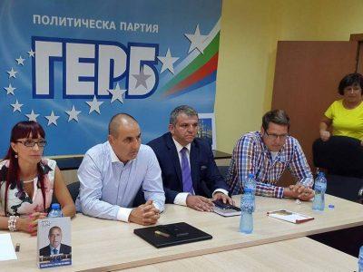 Цветан Цветанов в Гоце Делчев: Сега е важно да се обединим и да си върнем доверието в Гоце Делчев