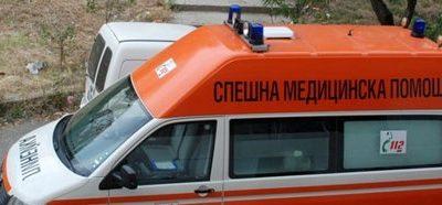 """Жена пострада при пътен инцидент на улица """"Дунав"""" в Гоце Делчев"""