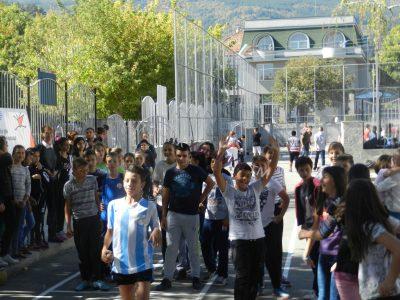 Европейски ден на спорта в едно от училищата на Гоце Делчев