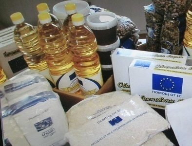 Започна раздаването на хранителни помощи в град Гоце Делчев