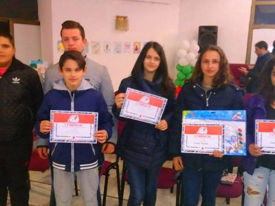Връчиха наградите от конкурс за детска рисунка в град Гоце Делчев