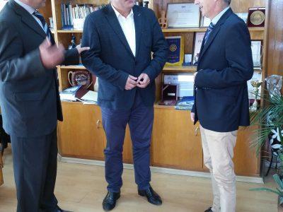Кметът Владимир Москов обсъди с гръцки партньори нови проекти за подкрепа на бизнеса в двата съседни района на Гоце Делчев и Драма