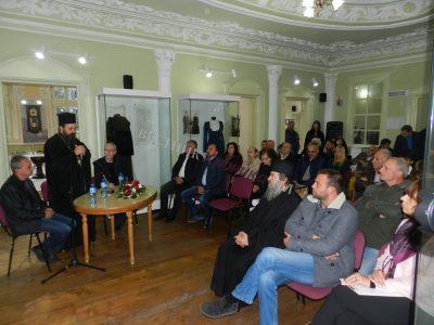 Екипът, заснел филма за десницата на Свети Йоан, започва работа над нов телевизионен проект, свързан с Горазд и Ангеларий