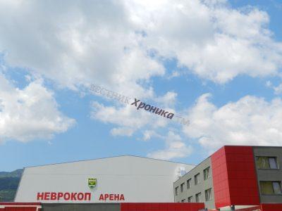 Част от новата спортна зала в Гоце Делчев ще бъде отдадена под наем