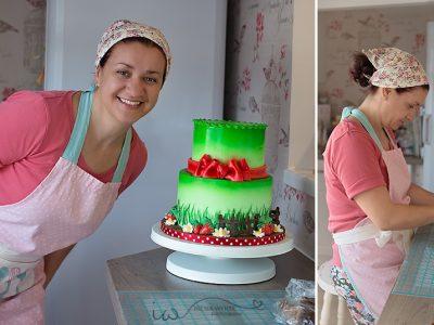 """Едно """"сладко"""" интервю на момичето с неврокопски корени Лидия Тодорова за тортите й, които превземат Лондон"""