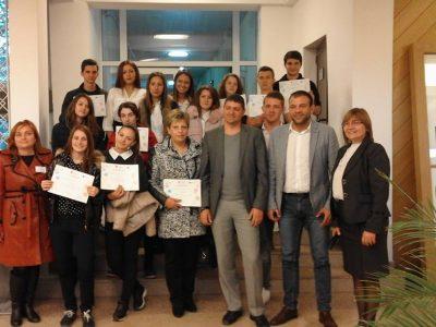Ученици от Гоце Делчев, Сандански, Петрич и Разлог се включиха в световната седмица на предприемачеството