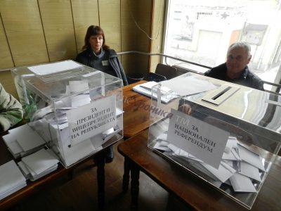 Около 10 процента от гражданите в Гоце Делчев и общината са гласували до 10 часа