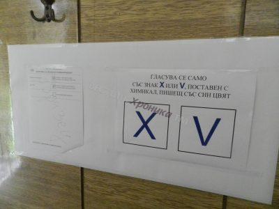Малко над 40 процента от избирателите в Гоце Делчев излязоха да гласуват до 17 часа