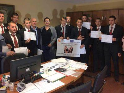 """Още 12 ученици от НПГ """"Димитър Талев"""" завършиха стажа си в Германия"""
