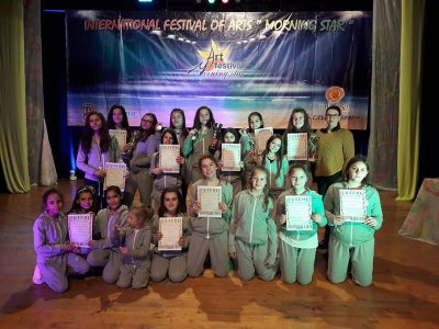 Куп награди от международен фестивал за танцовата формация VIVA DANCE
