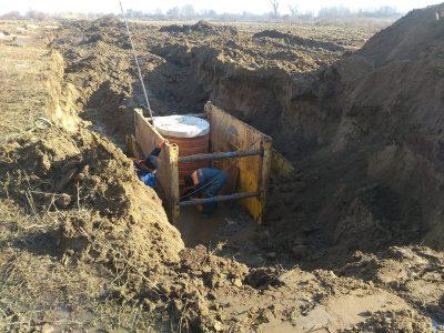 Започна изграждането на колектор за отпадни води край с. Мосомище
