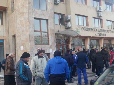 В Гърмен пак протестират срещу ромското гето