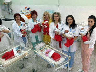 В родилното отделение на болницата в Гоце Делчев очакват гости за Бабинден