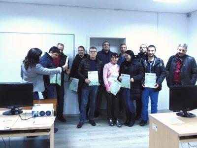 Завърши поредния курс по компютърни програми, организиран от Сдружението на предпримачите в Гоце Делчев