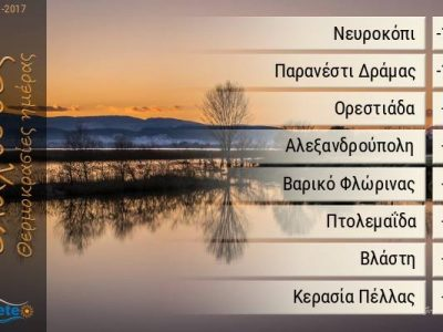 Рекордно ниски температури в Гоце Делчев и Като Неврокопи