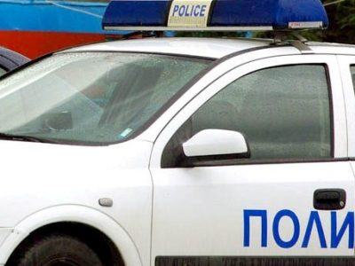Верижна катастрофа на заледен път край Гоце Делчев