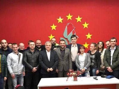 Кметът и младите социалисти в Гоце Делчев застанаха твърдо зад кандидатурата на Богдан Боцев за народен представител