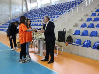 Кметът Владимир Москов връчи наградите от ученическите спортни игри в Гоце Делчев