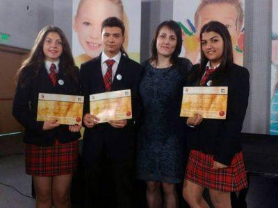 """Поредeн успех на ученици от НПГ """"Димитър Талев"""" в град Гоце Делчев"""