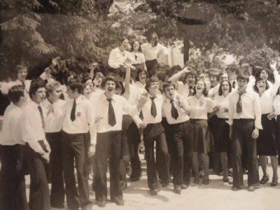 """Среща на випуск 1977 от ПГ """"Яне Сандански"""" в град Гоце Делчев"""