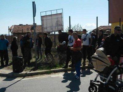 Производители на тютюн блокираха за кратко пътя за Гърция близо до Гоце Делчев