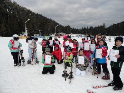Сред 10-те най-добри млади скиори в областта са деца от Трето ОУ в Гоце Делчев