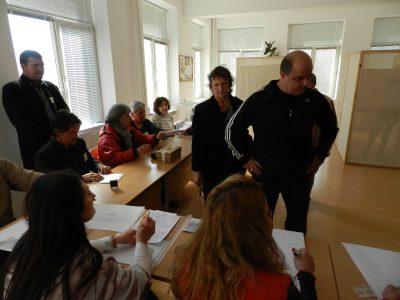 Скучен изборен следобед в Гоце Делчев