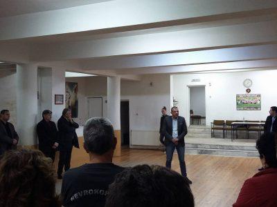 Богдан Боцев се срещна със самодейци от Гоце Делчев