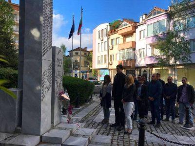 Млади социалисти от Гоце Делчев почетоха героите на Априлското въстание