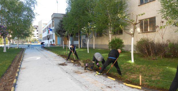 Нови алеи, като част от кампанията за повишаване на знанията и ограмотяване по въпросите за околната среда и климата