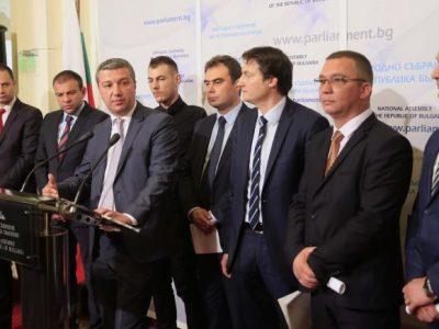 Народният представител от Гоце Делчев – Богдан Боцев на първи брифинг в парламента