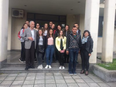 Млади хора от Хаджидимово се интересуват как работи съдебната система