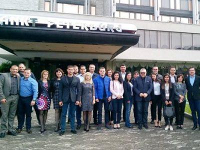 Народният представител Богдан Боцев се включи в обучение на политически лидери