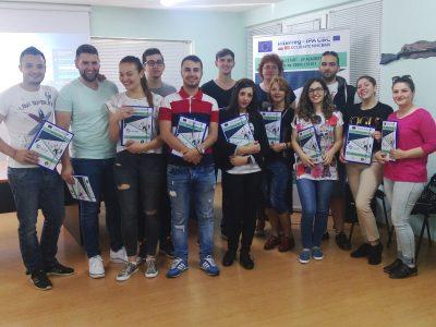 Български и македонски младежи от Гоце Делчев, Гърмен, Брезница, Мосомище, Босилово и Струмица се учат как да стартират свой бизнес