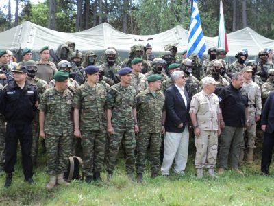 """Военните министри Каракачанов и Каменос присъстваха на ВИП-деня на българо-гръцката съвместна подготовка """"Balkan Dagger"""""""