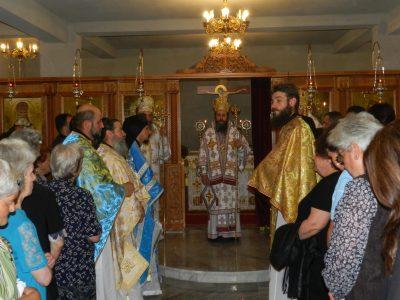 Владиката Серафим отвори дверите на единствения в страната храм на Св. Лука в приземния етаж на новостроящата се черква в Гоце Делчев