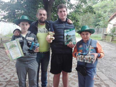 Млади риболовци от Гоце Делчев спечелиха второ място в Национален турнир
