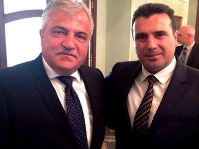 Кметът на Гоце Делчев се срещна с премиера на Македония
