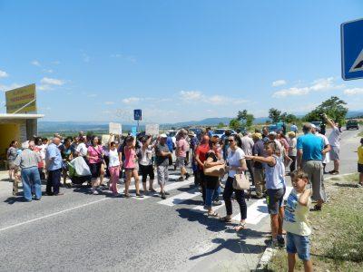 Расте подкрепата за протеста срещу кариерата между Ляски и Мосомище