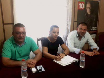 Болницата, ВиК и липсата на места в детските градини са проблемите поставени пред депутата Богдан Боцев на приемна в Петрич