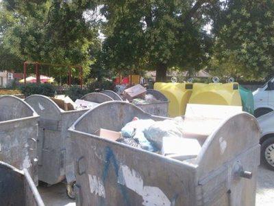 В Мосомище се опитват да събират боклука разделно