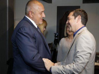 """Ципрас и Борисов се срещнаха в бутковия """"Имарет"""" в старинната част на Кавала"""