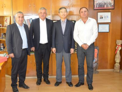 Посланикът на Южна Корея проучва възможностите за инвестиции в Гоце Делчев