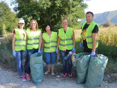 """Над 8 тона отпадъци са събрани в Гоце Делчев в рамките на кампанията """"Да изчистим България заедно"""""""