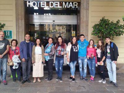 Група българи от Гоце Делчев и македонци от Струмица са на работно посещение в Барселона