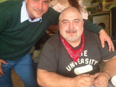 Новодомско парти с Ути Бъчваров у семейство Тоневи в Хаджидимово