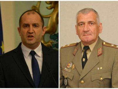Президентът генерал Румен Радев пристига за кулминацията на тържествата по повод 105 години от Освобождението на Неврокоп